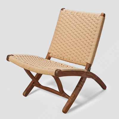 Superb Teak Wood And Woven Rope Folding Chair Ocoug Best Dining Table And Chair Ideas Images Ocougorg