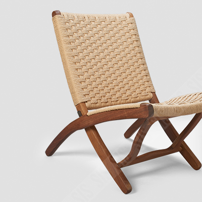 Fine Teak Wood And Woven Rope Folding Chair Ocoug Best Dining Table And Chair Ideas Images Ocougorg